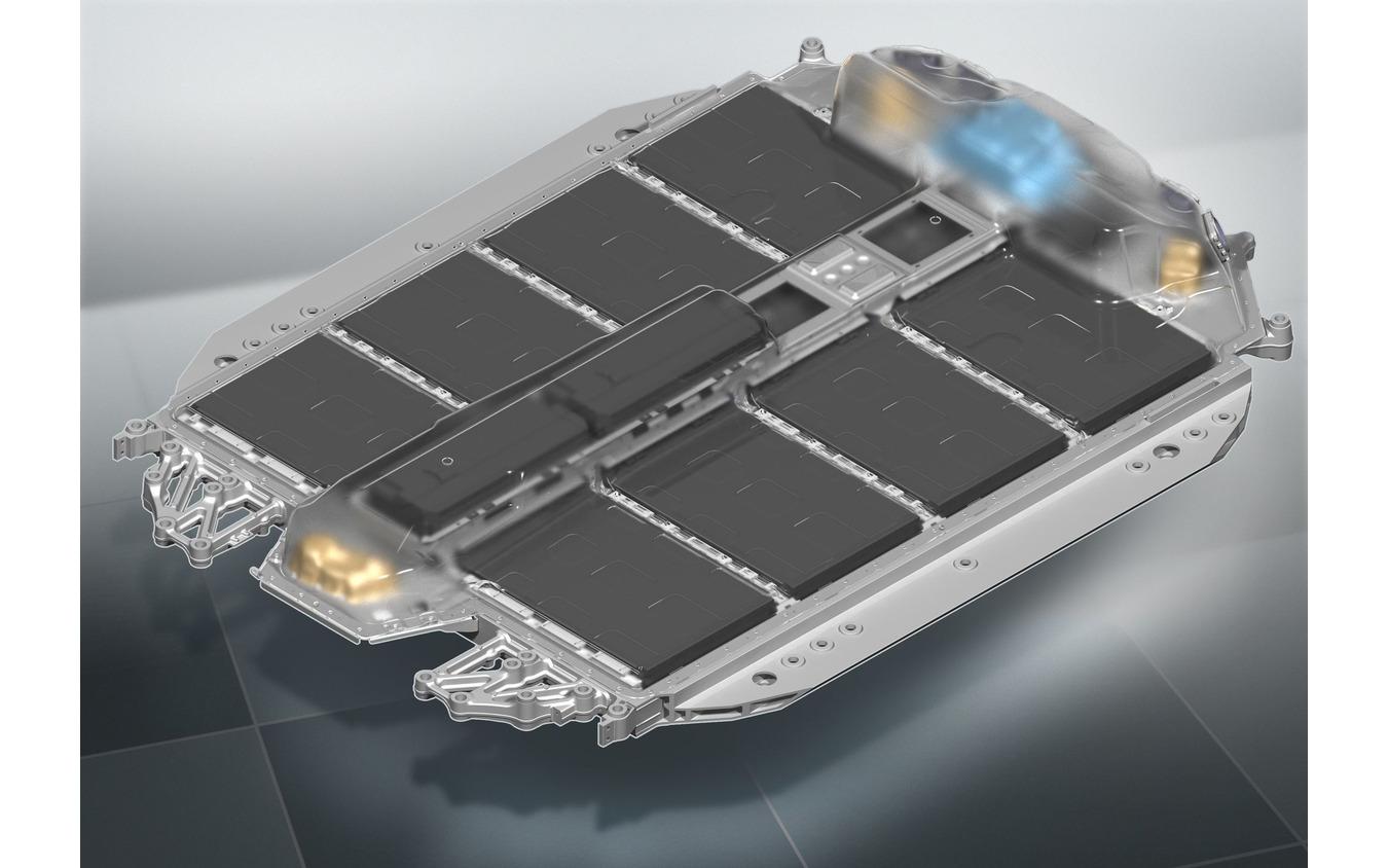 BMW i4 のバッテリー