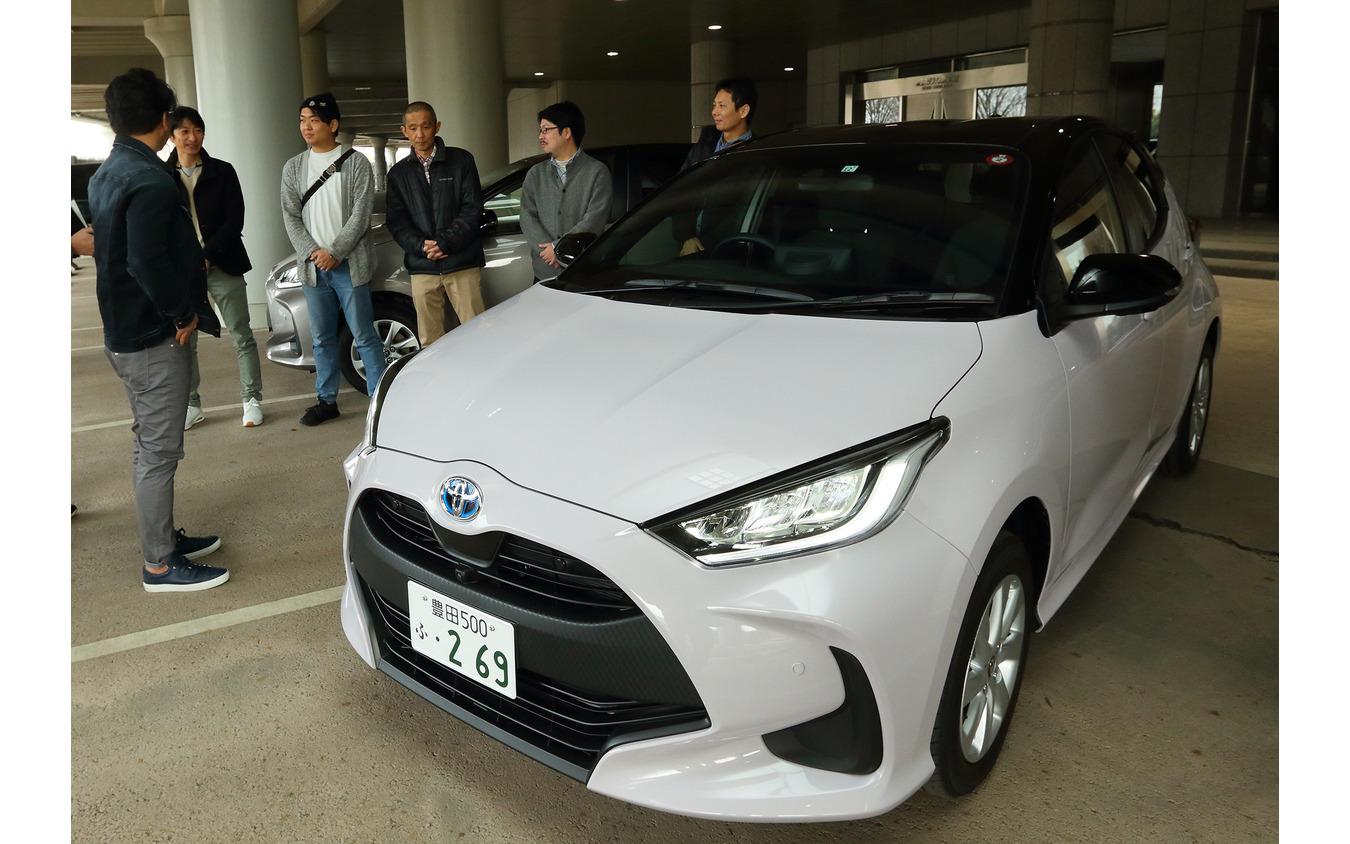 トヨタの新型車『ヤリス』レスポンス読者試乗会