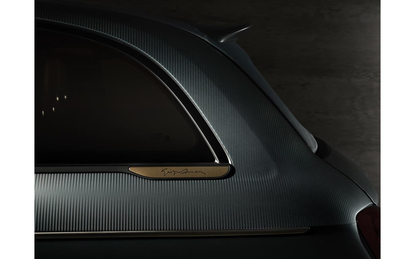 新型フィアット 500 ジョルジオ・アルマーニ