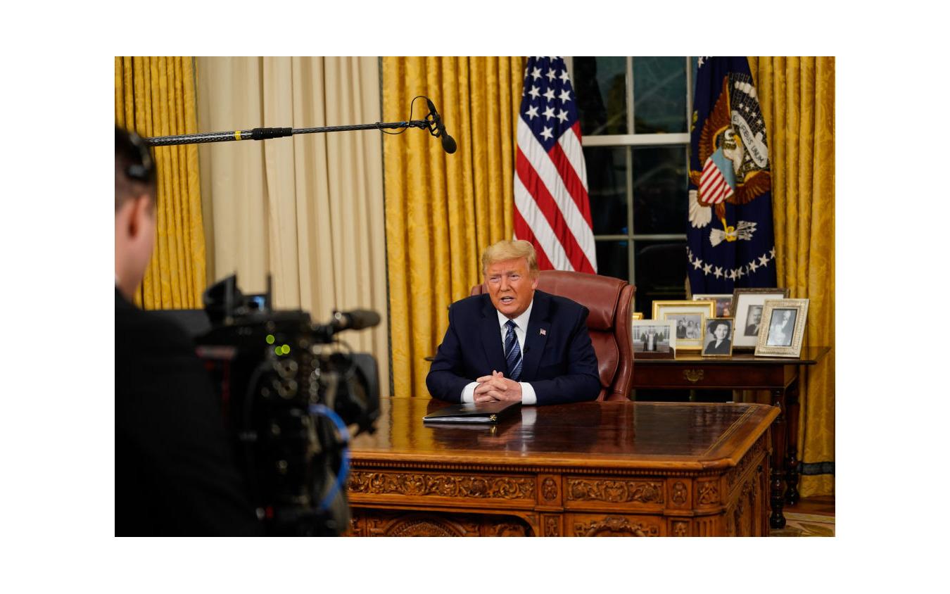 トランプ大統領の演説