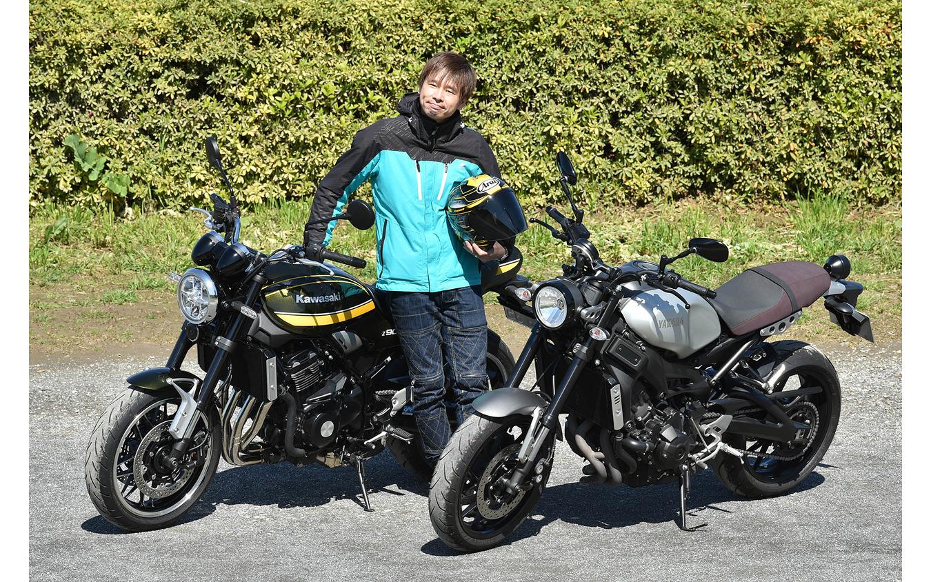 ヤマハ XSR900 & カワサキ Z900RS モーターサイクルジャーナリスト青木タカオ