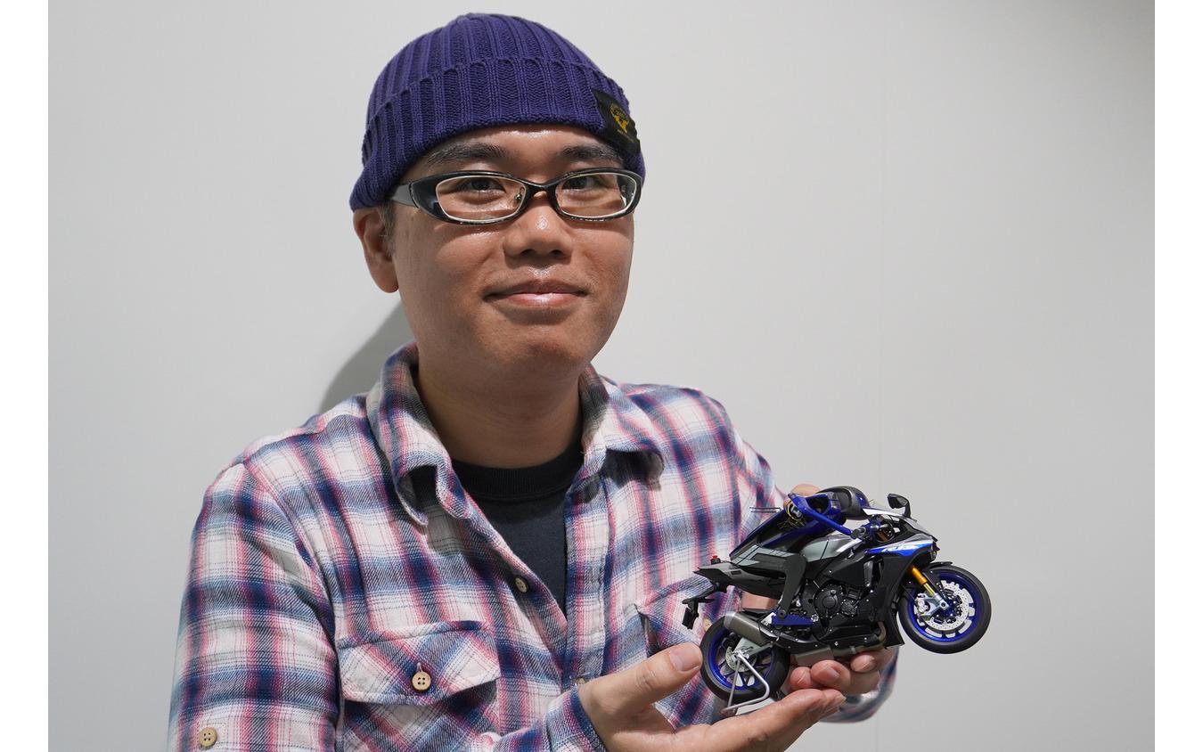 今泉健二さんが製作した「MOTOBOT」