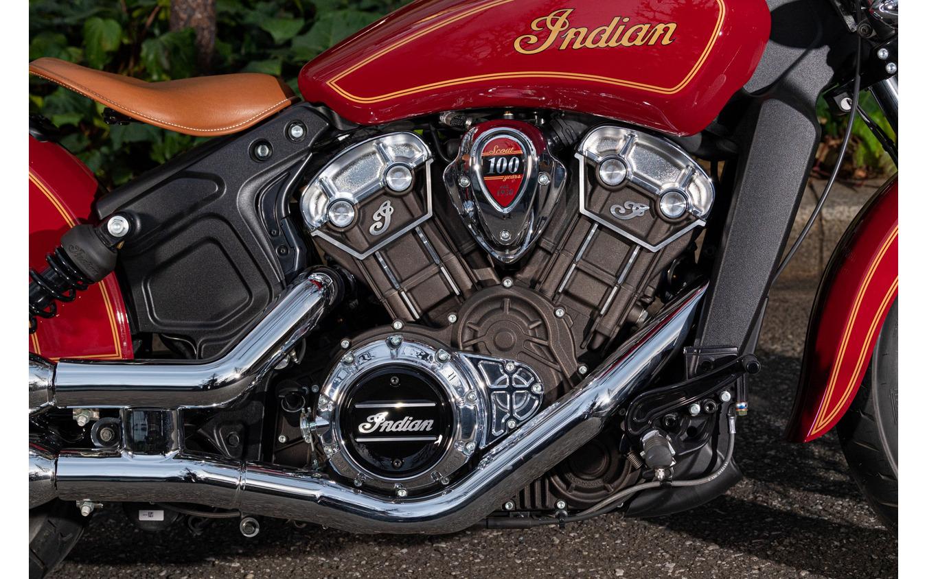 インディアンモーターサイクル スカウト100thアニバーサリーエディション