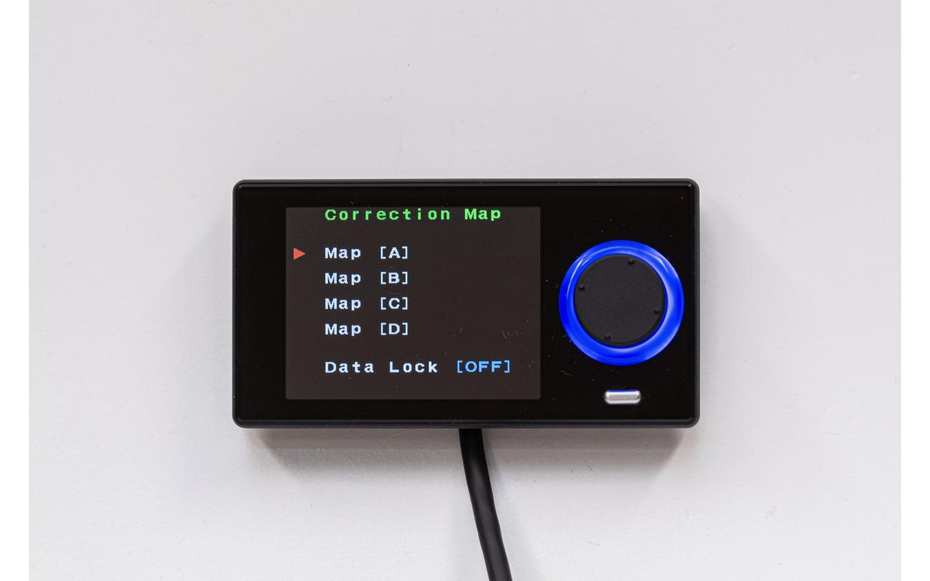 オフ(※)/A/B/C/Dの5種類のプロセットモードが設定可能。※ノーマルアクチュエーターもしくはウエストゲートのみでの制御