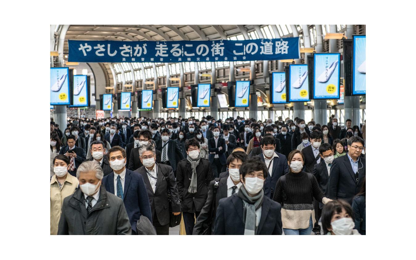品川駅(4月8日)