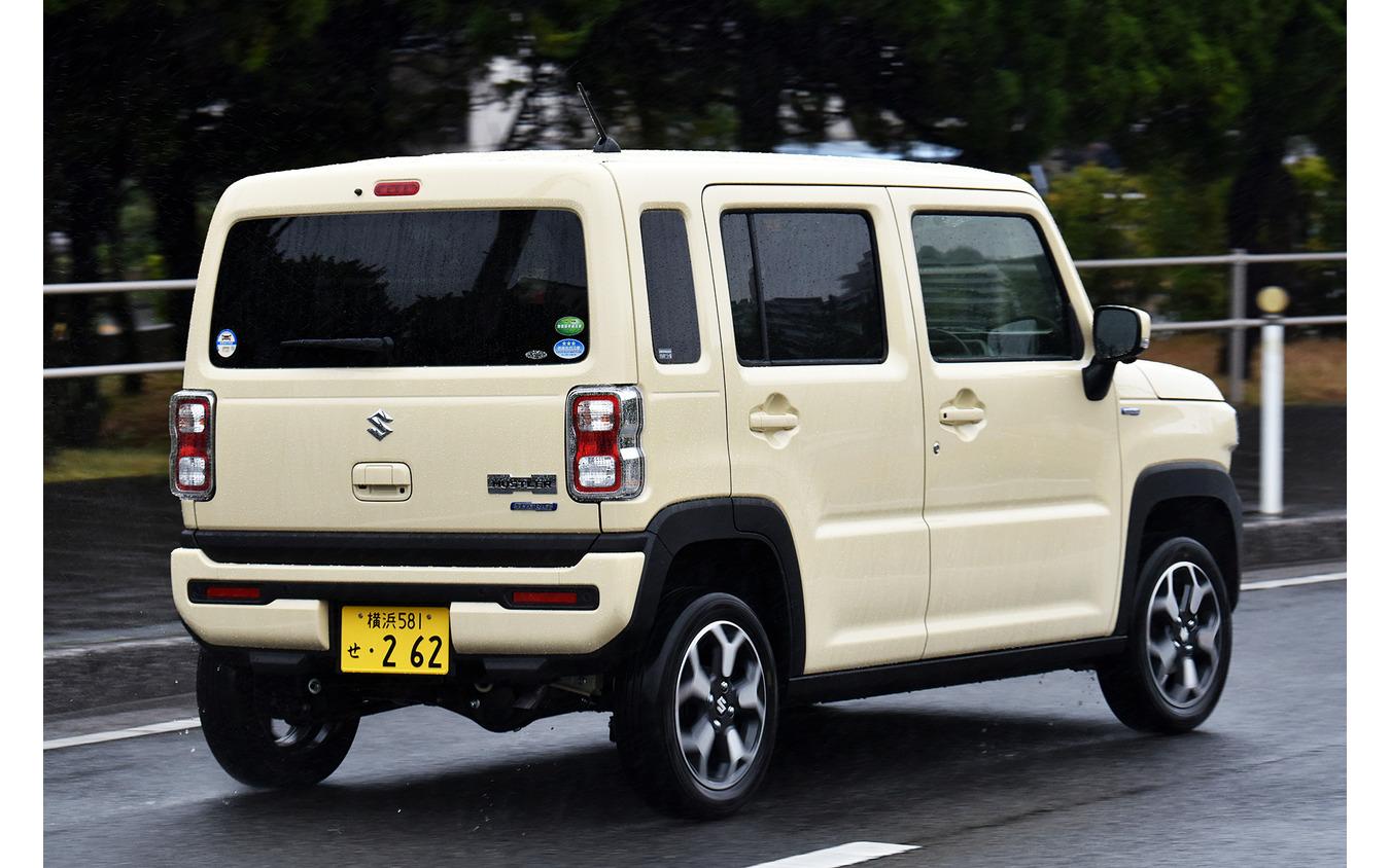 スズキ ハスラー ハイブリッドXターボ(4WD)