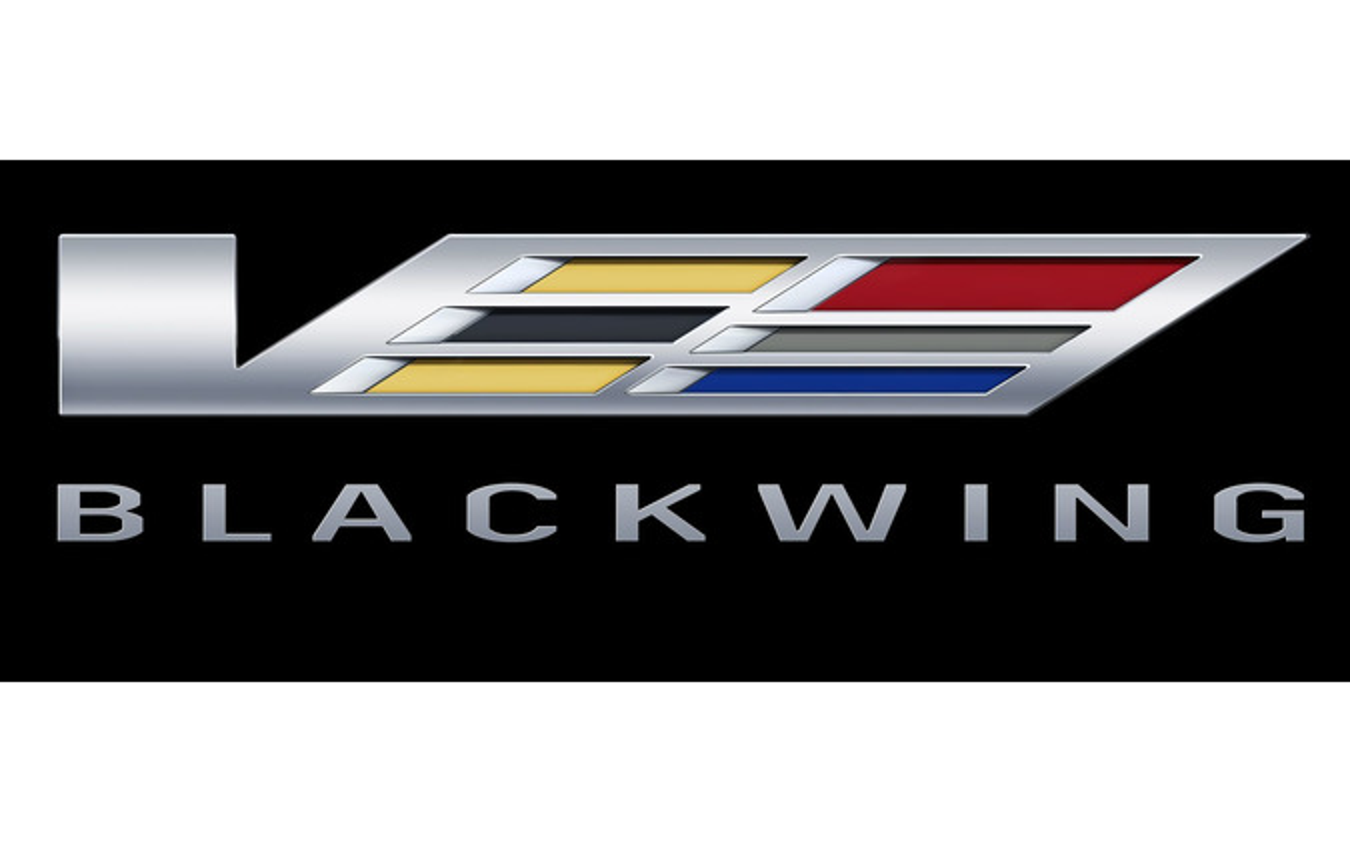 キャデラック「ブラックウィング」のロゴ