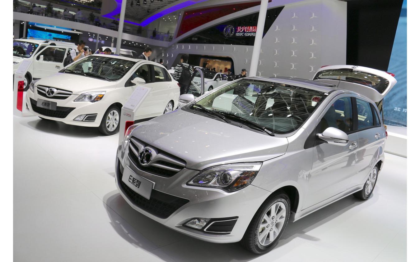 北汽Eシリーズ(北京モーターショー2014)