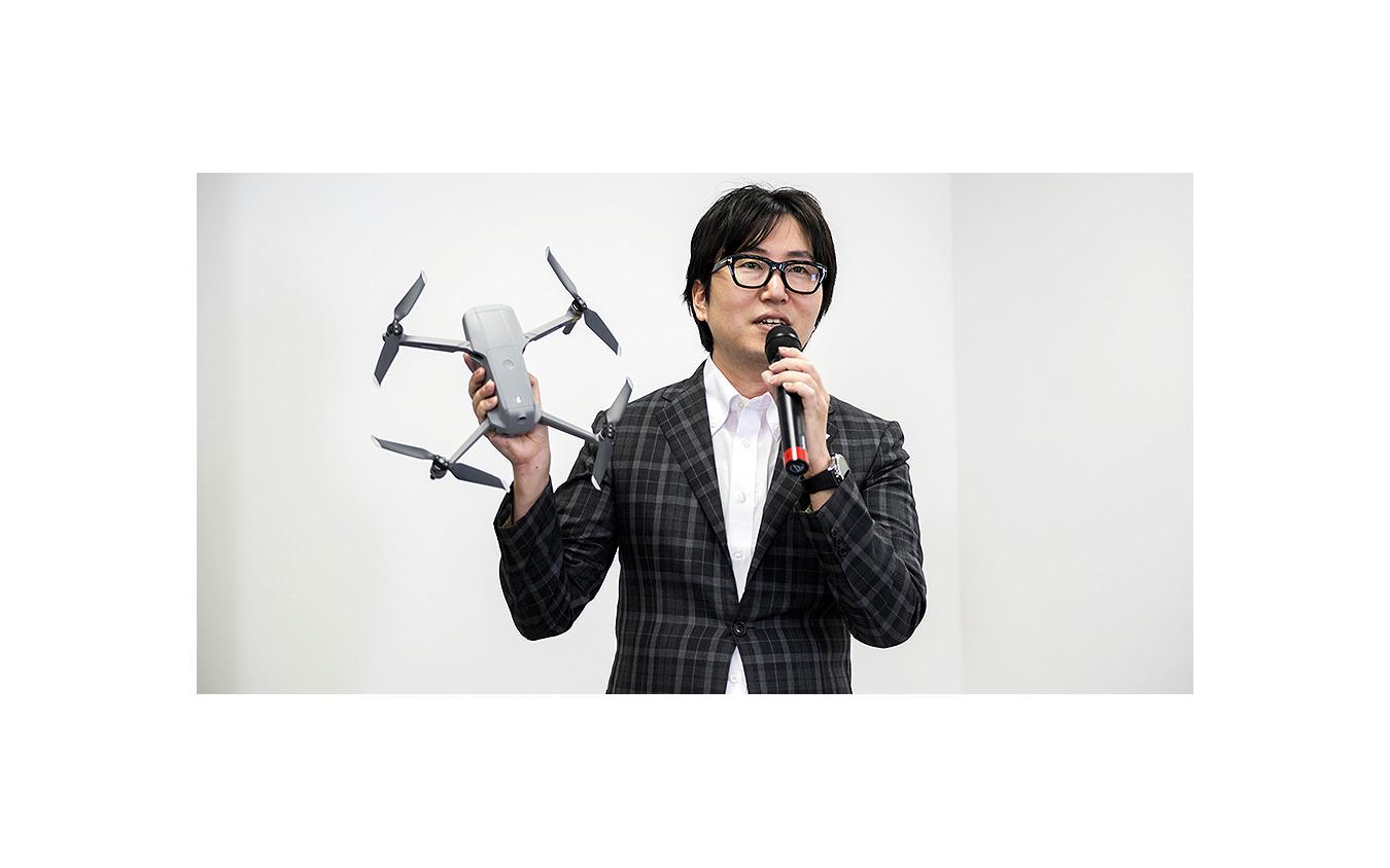 DJI JAPAN コンシューマーマーケティングディレター 川中良之氏
