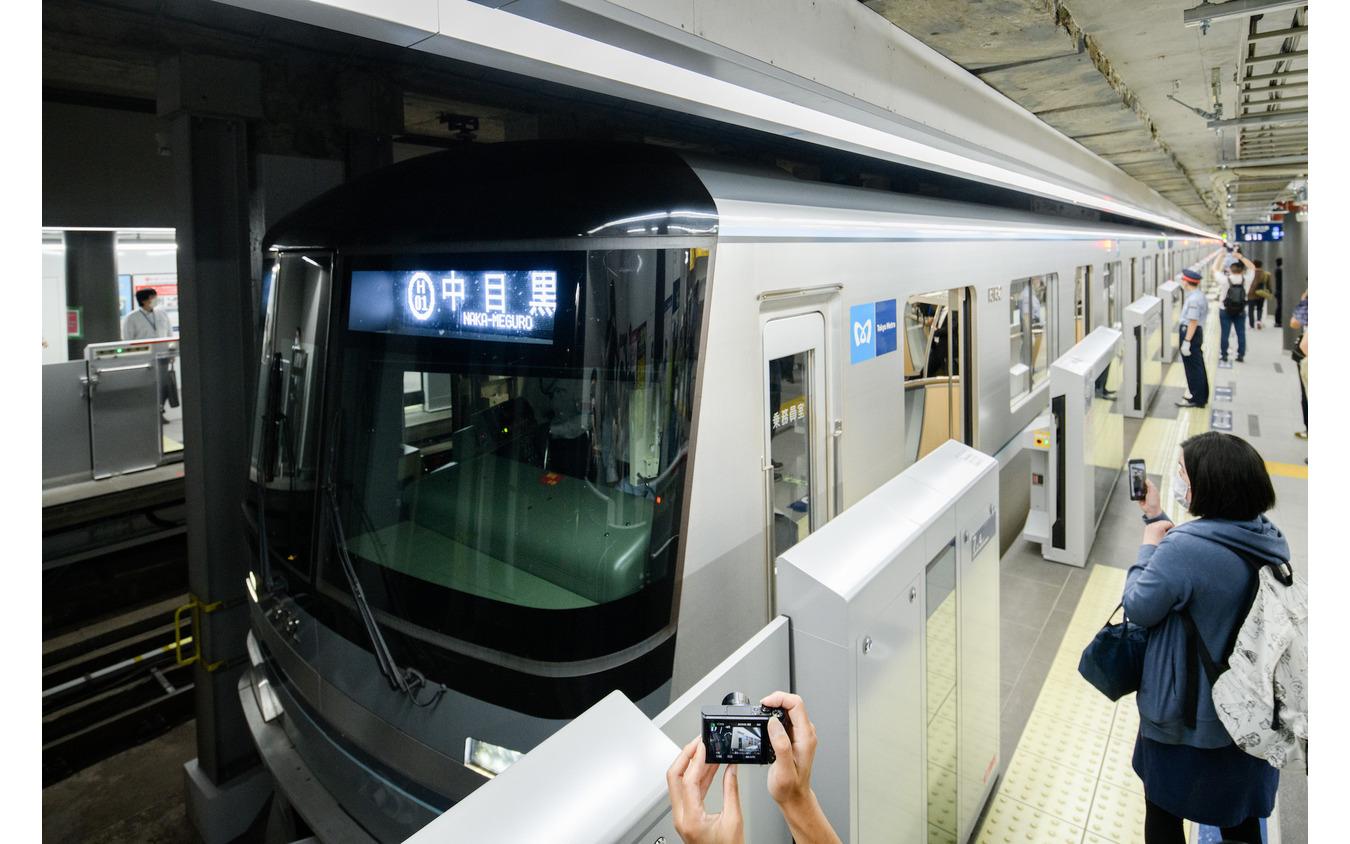 東京メトロ虎ノ門ヒルズ駅(6月6日)