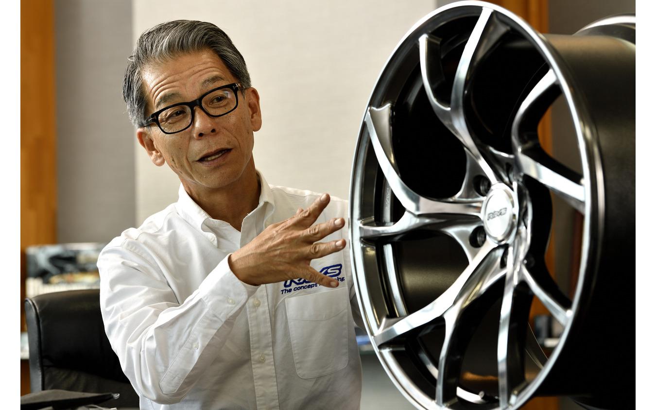 ボルクレーシング企画開発部部長 モータースポーツDIV.リーダー 山口浩司氏
