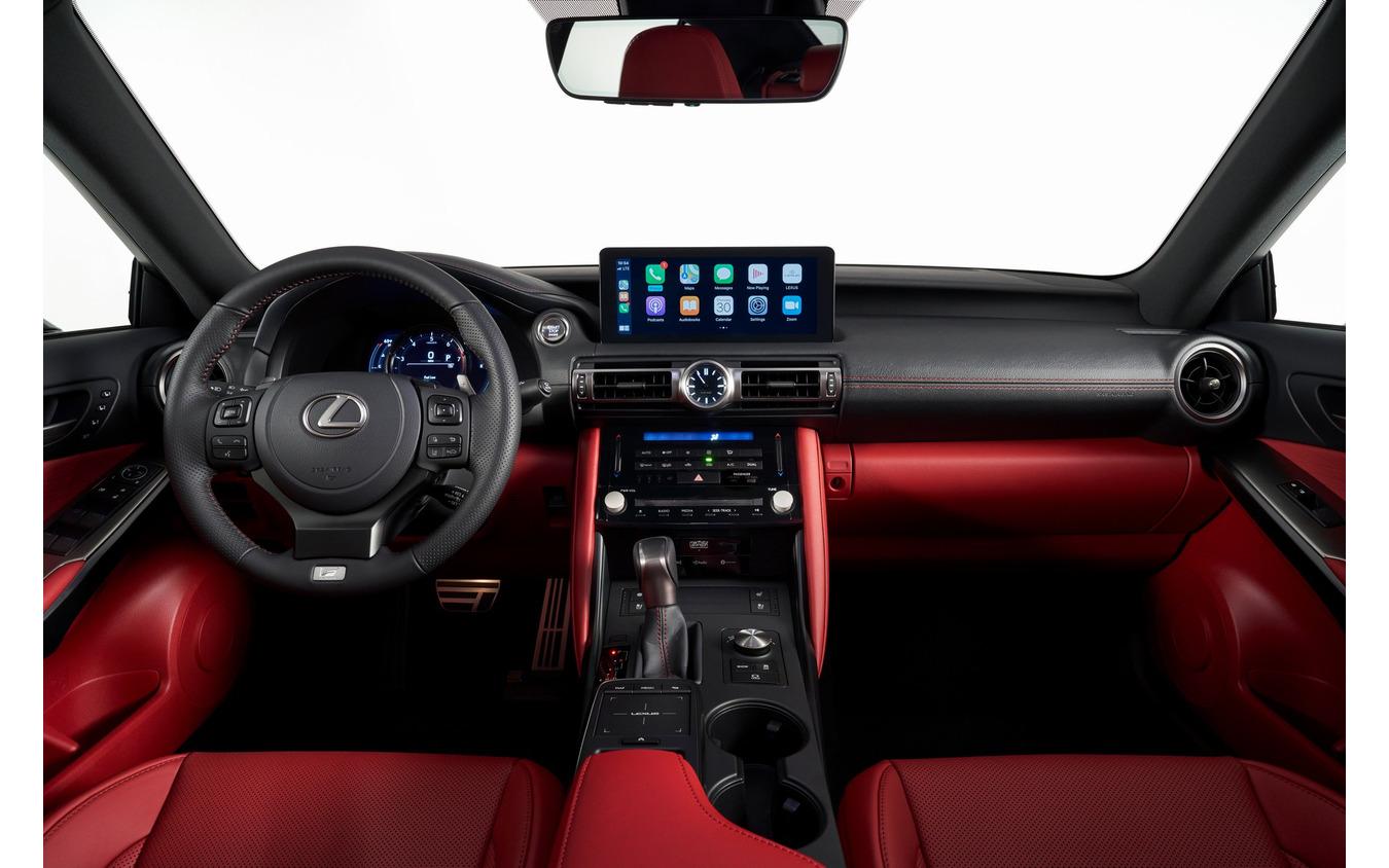 レクサス IS 改良新型(北米仕様)