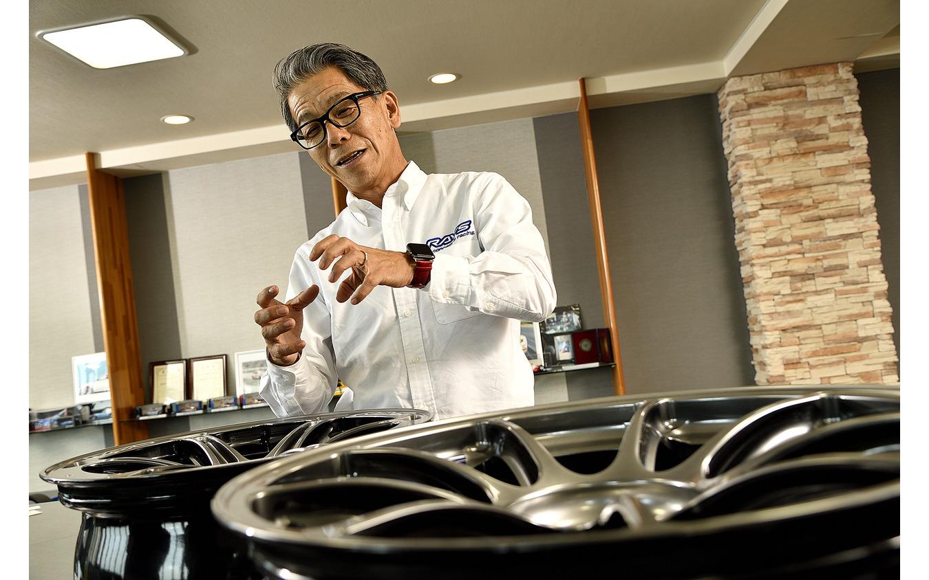 ボルクレーシング開発責任者として今後も素晴らしい製品を発表してくれるであろう山口氏