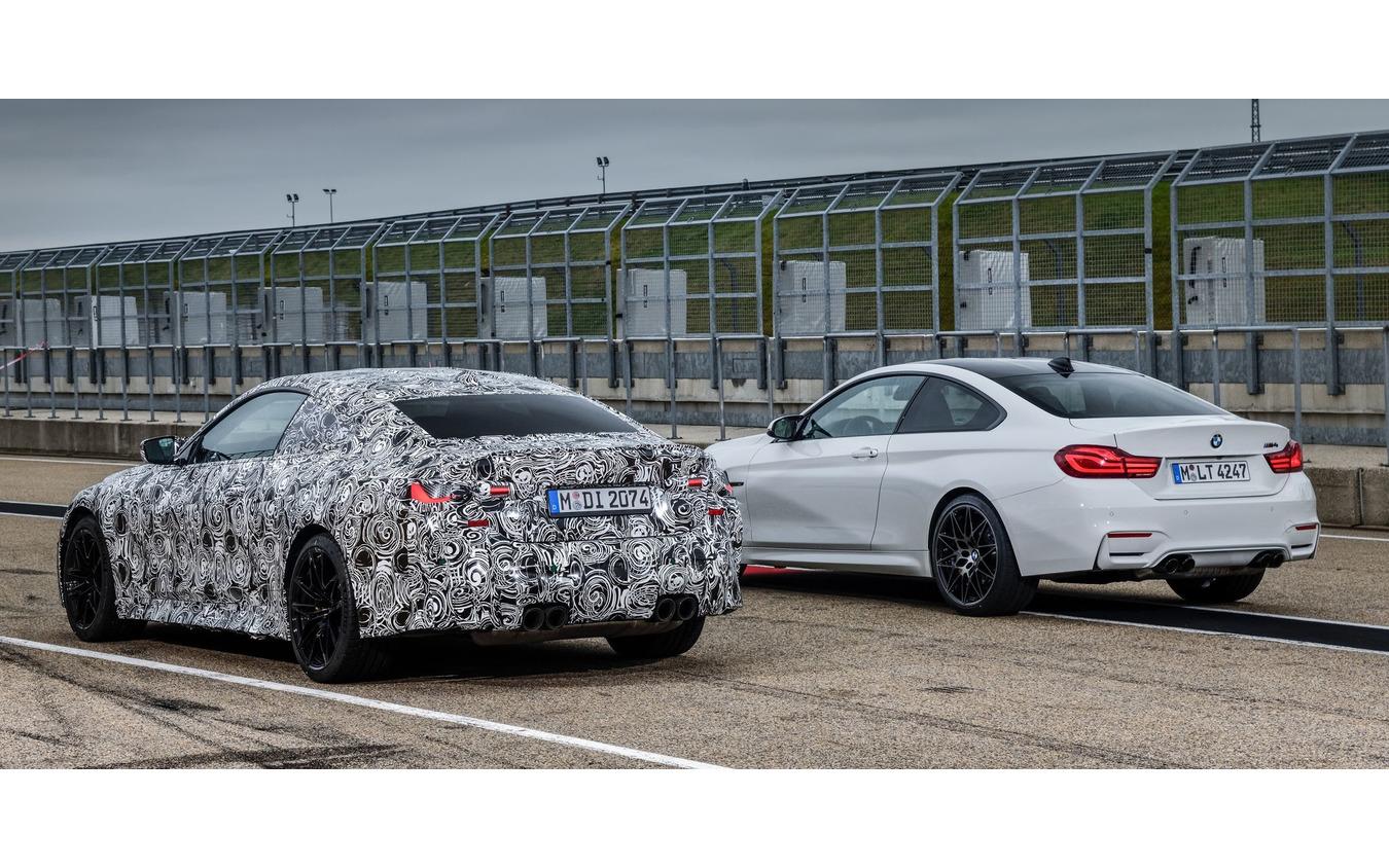 BMW M4クーペ 次期型のプロトタイプ