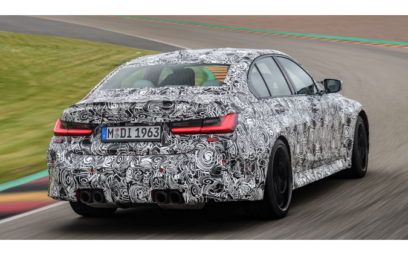 BMW M3セダン 次期型のプロトタイプ