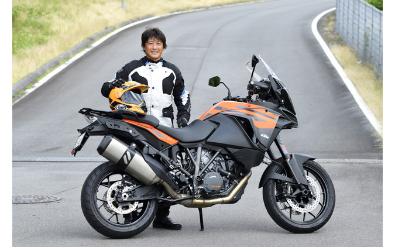 KTM 1290スーパーアドベンチャーSと鈴木大五郎
