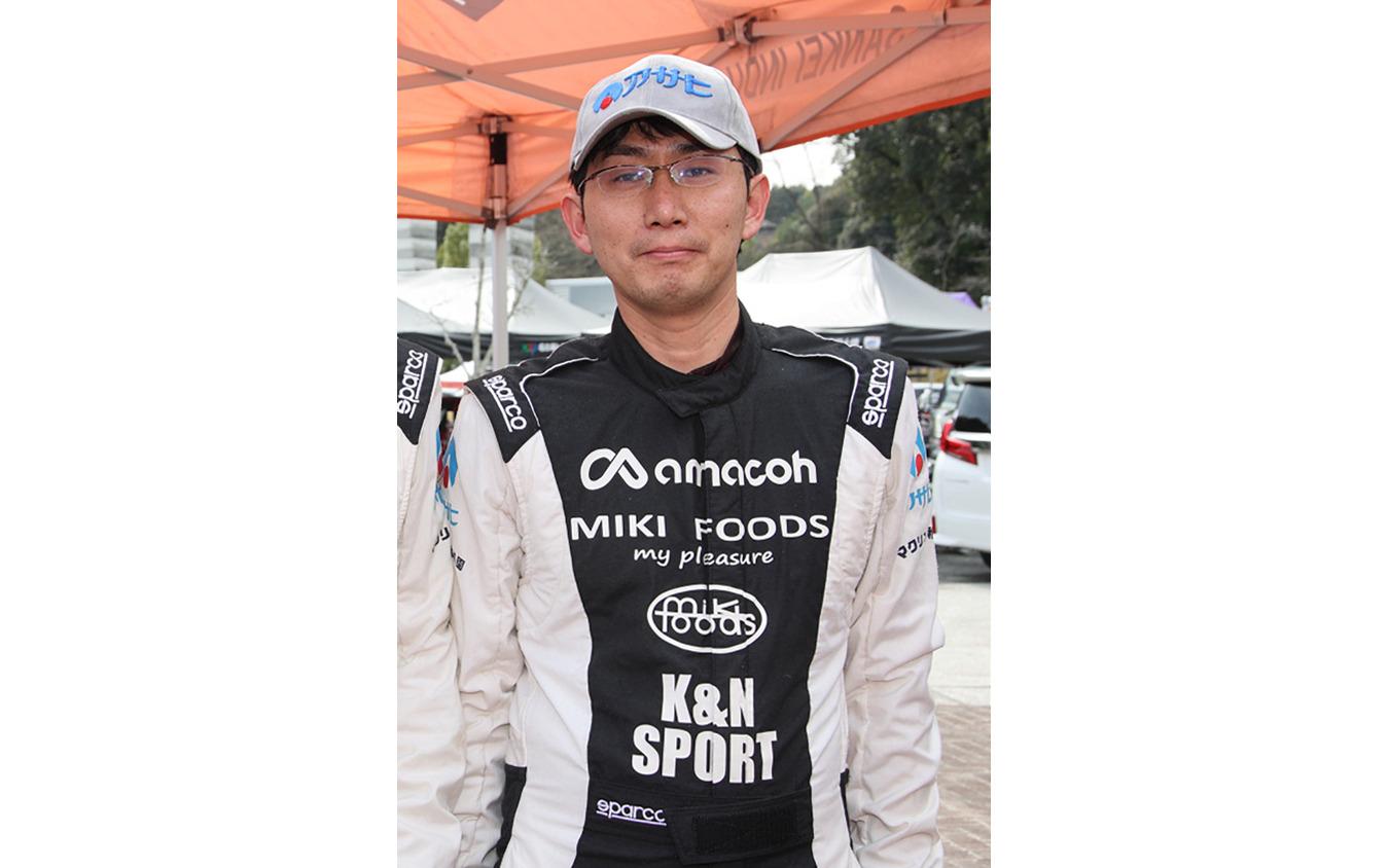 コドライバーだけでなく、ドライバー、メカニックとしてもスゴ腕の桝井和寛さん