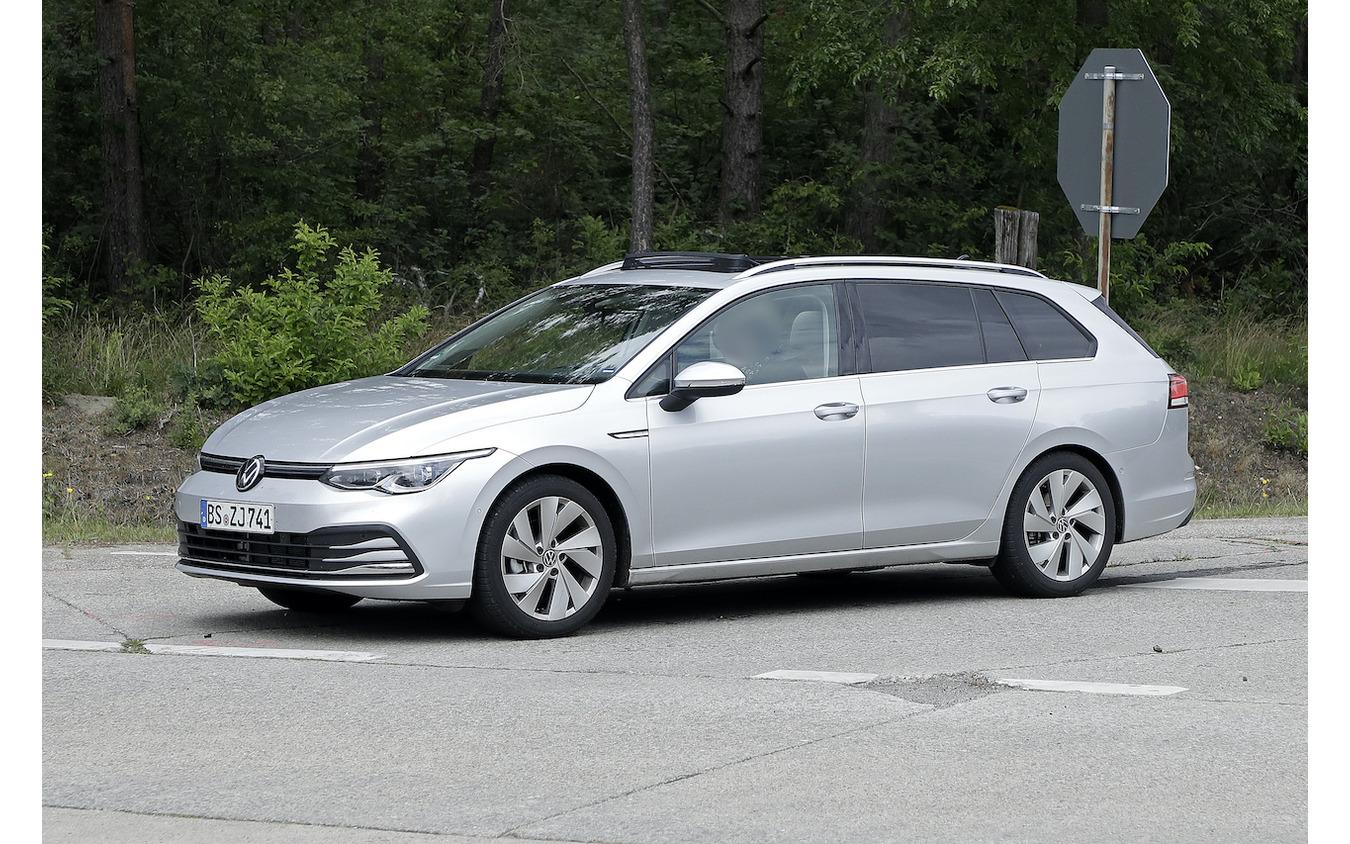 VW ゴルフヴァリアント 新型プロトタイプ