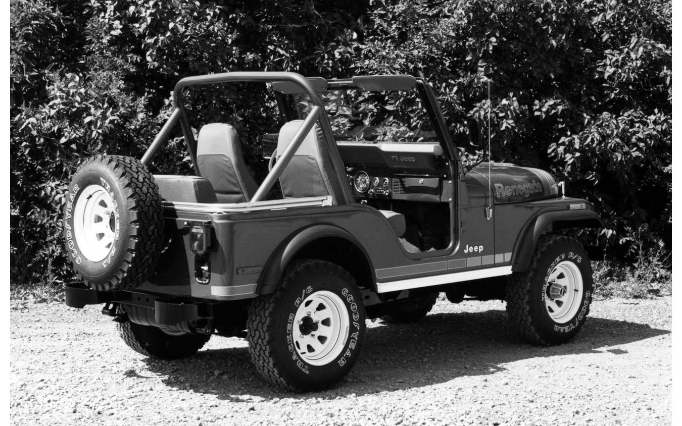 5.0リットルV8を搭載していたジープ CJ-5 レネゲード(1980年)