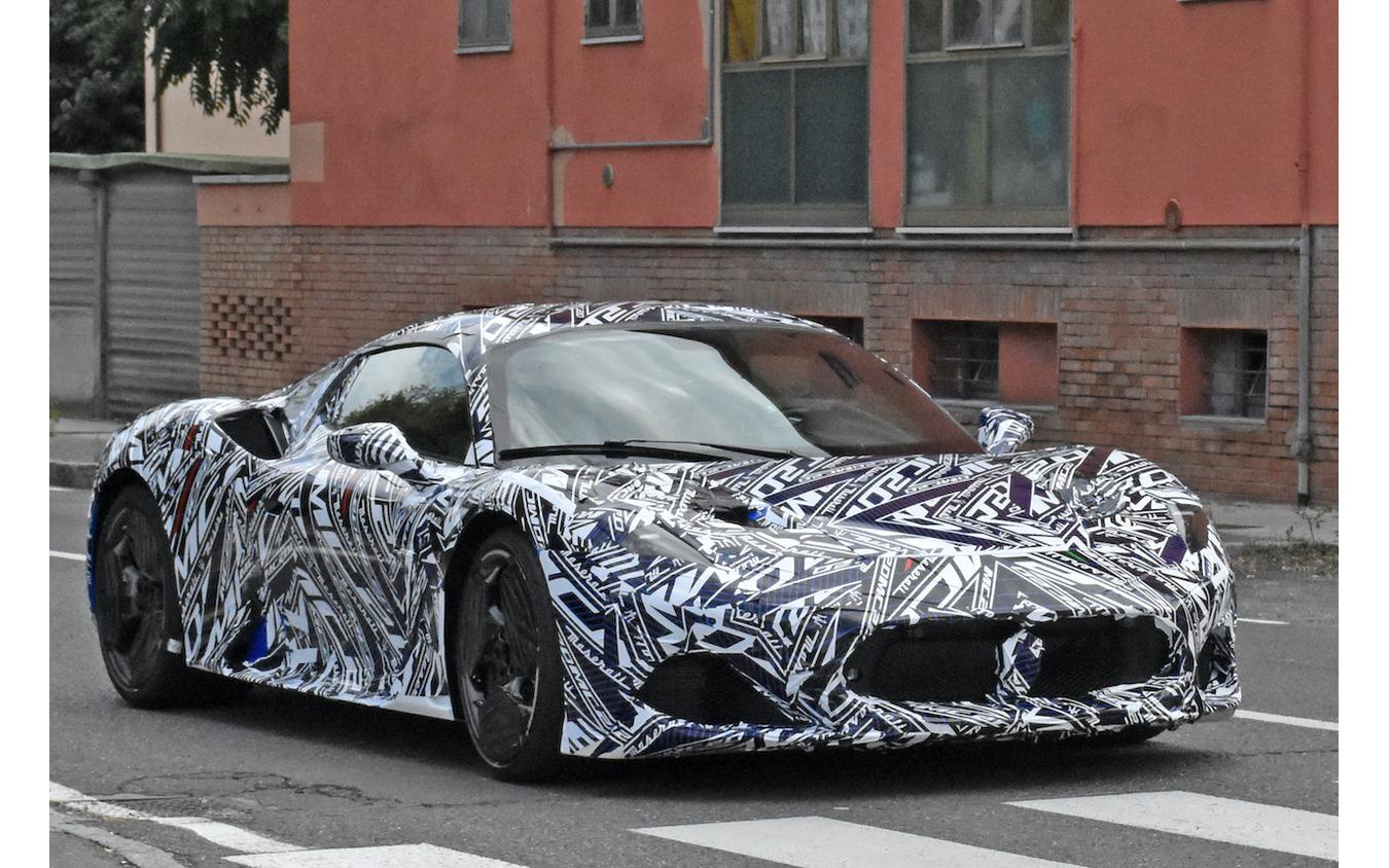 マセラティの新型スーパーカー『MC20』市販型プロトタイプ(スクープ写真)