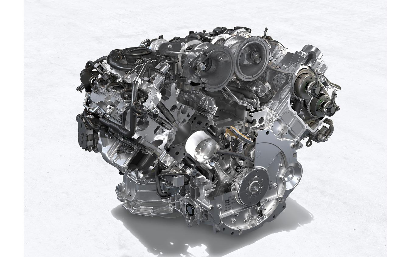 ターボSのエンジン