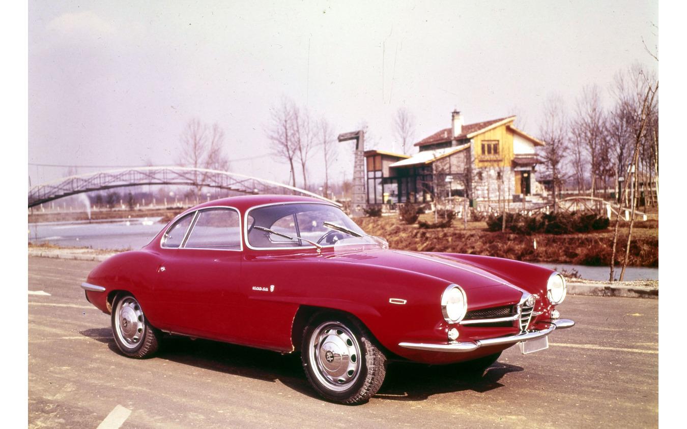 1963年 ジュリア・スプリント・スペチアーレ。フェンダーの文字は1600SS