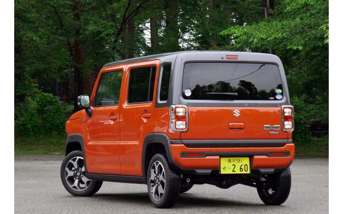 新型ハスラー「ハイブリッドXターボ4WD」
