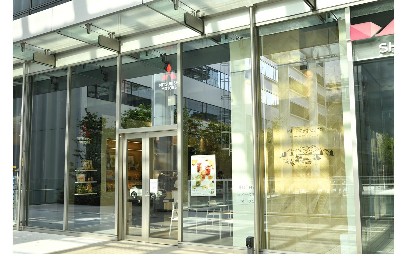 三菱自動車 本社ショールーム 2階サテライトエリア