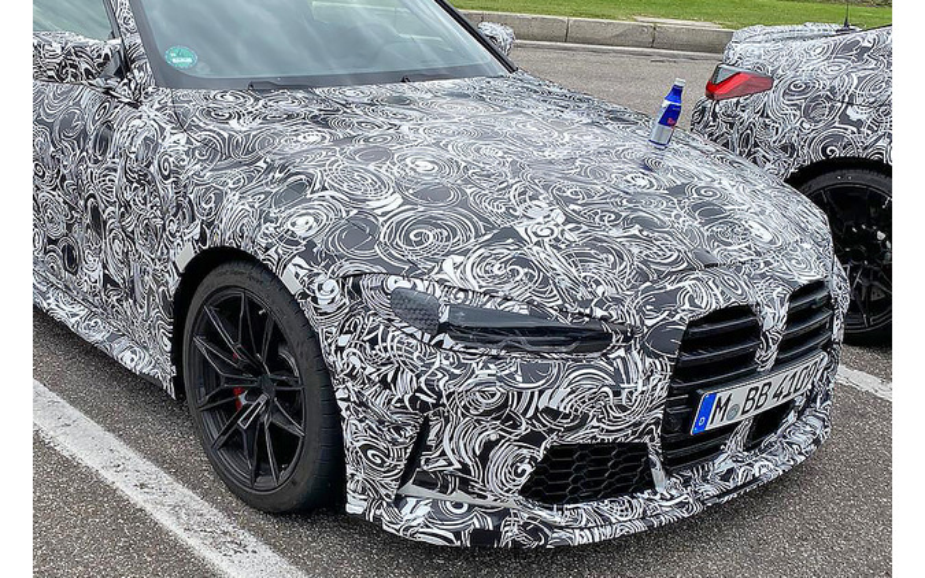 BMW M4 GTS プロトタイプ(スクープ写真)