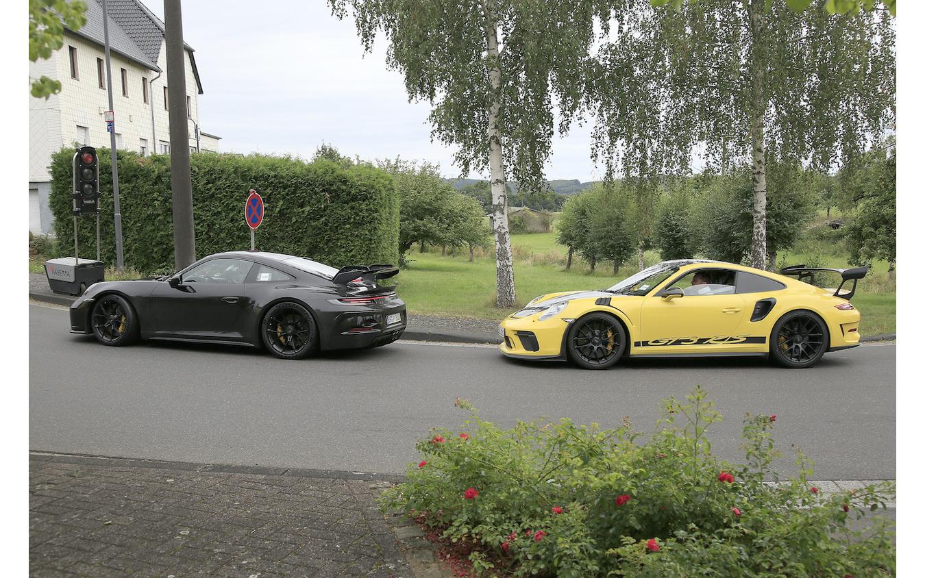 ポルシェ 911 GT3 次期型プロトタイプ(スクープ写真)