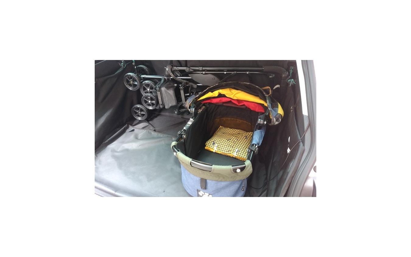 ドライブ旅行におけるドッグカートの利便性を検証