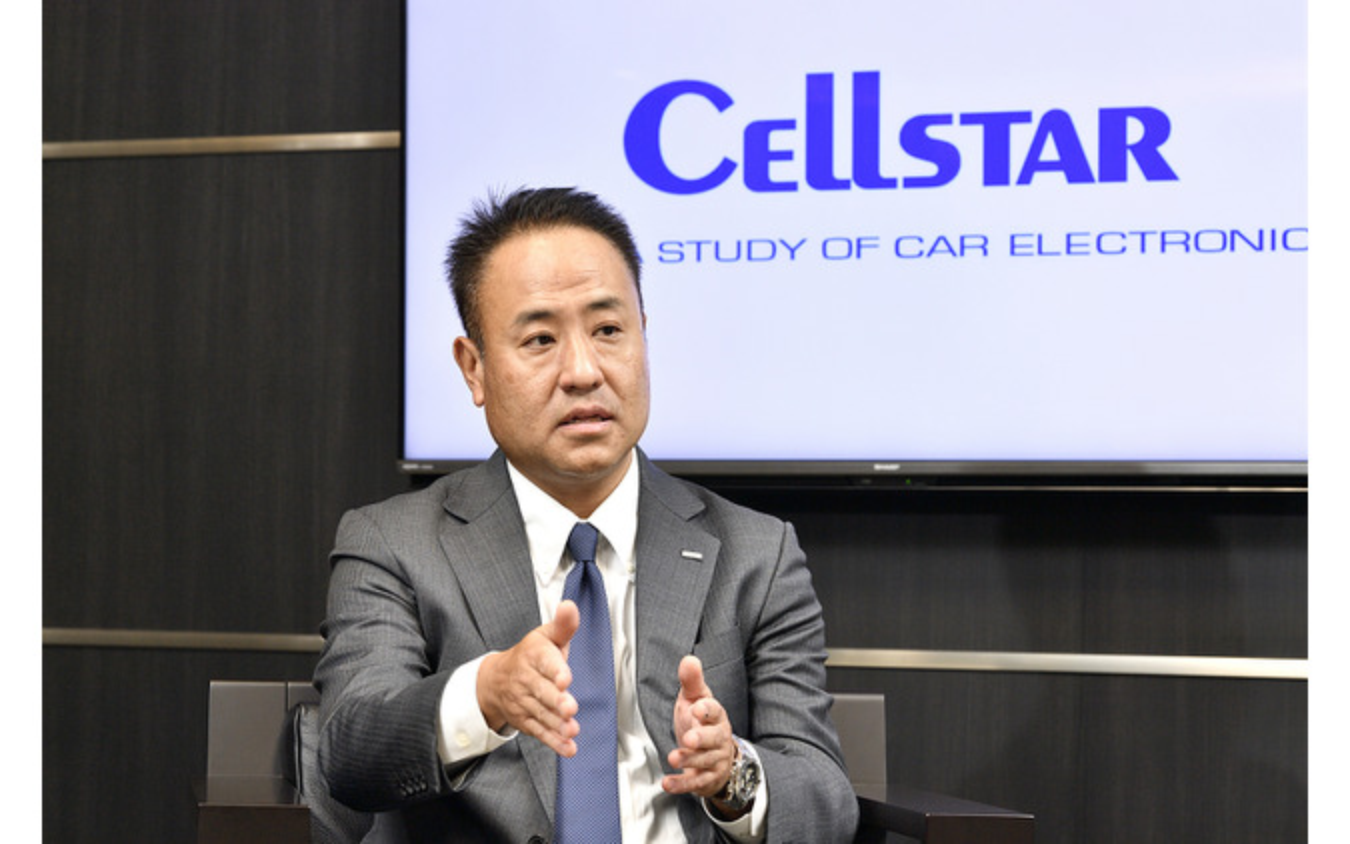 セルスター工業代表取締役 勝永直隆社長