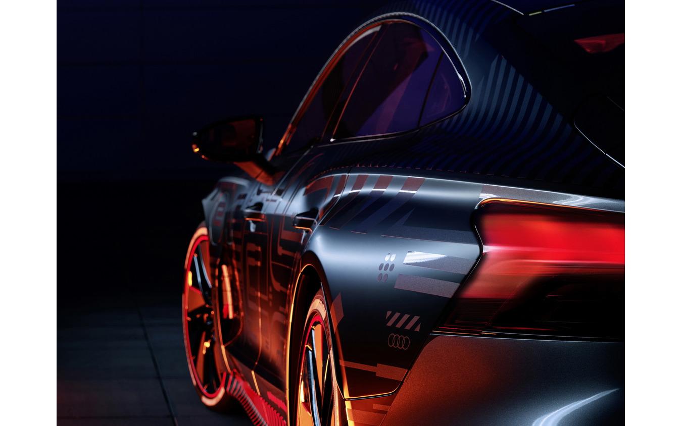 アウディ e-tron GT のプロトタイプ