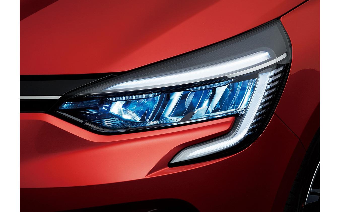 ルノー・ルーテシア新型、LEDヘッドライト/デイタイムランプ
