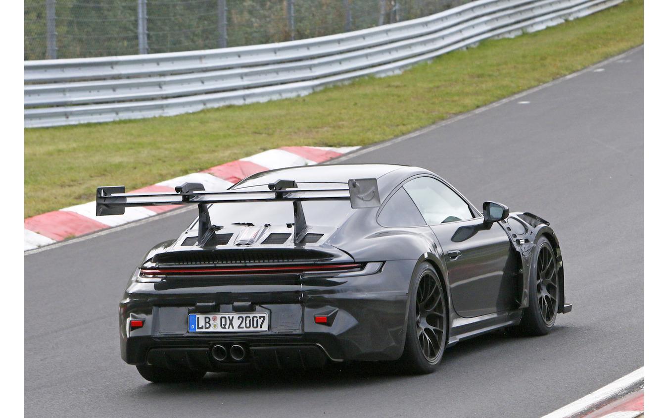 ポルシェ 911 GT3 RS 次期型プロトタイプ(スクープ写真)
