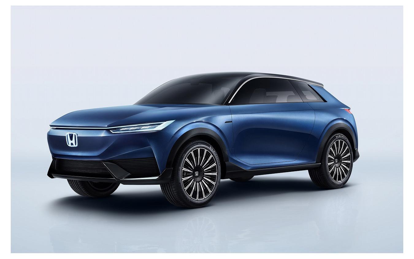 北京モーターショーで発表されたホンダSUV e:コンセプト