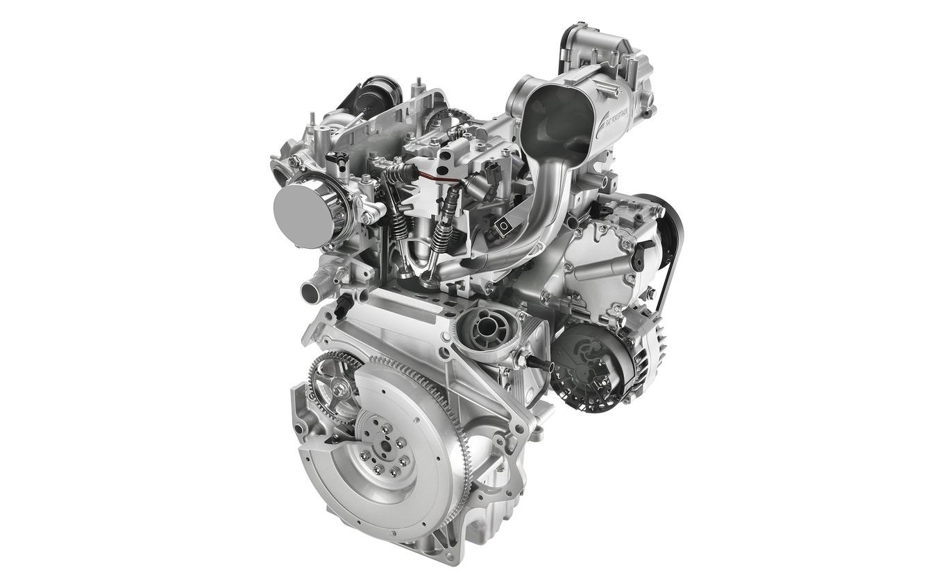 フィアット 500/500C に搭載されるツインエアエンジン