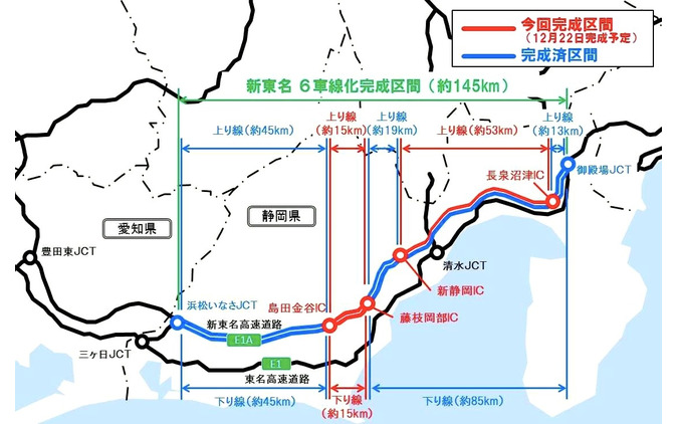 新東名6車線化事業