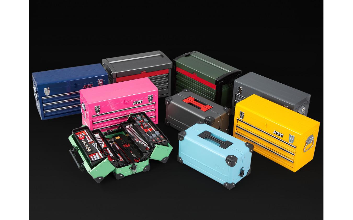 用途に合わせたKTCの工具セットを、お得に&限定カラーを手に入れられるのは「SKセール2021」だけ!