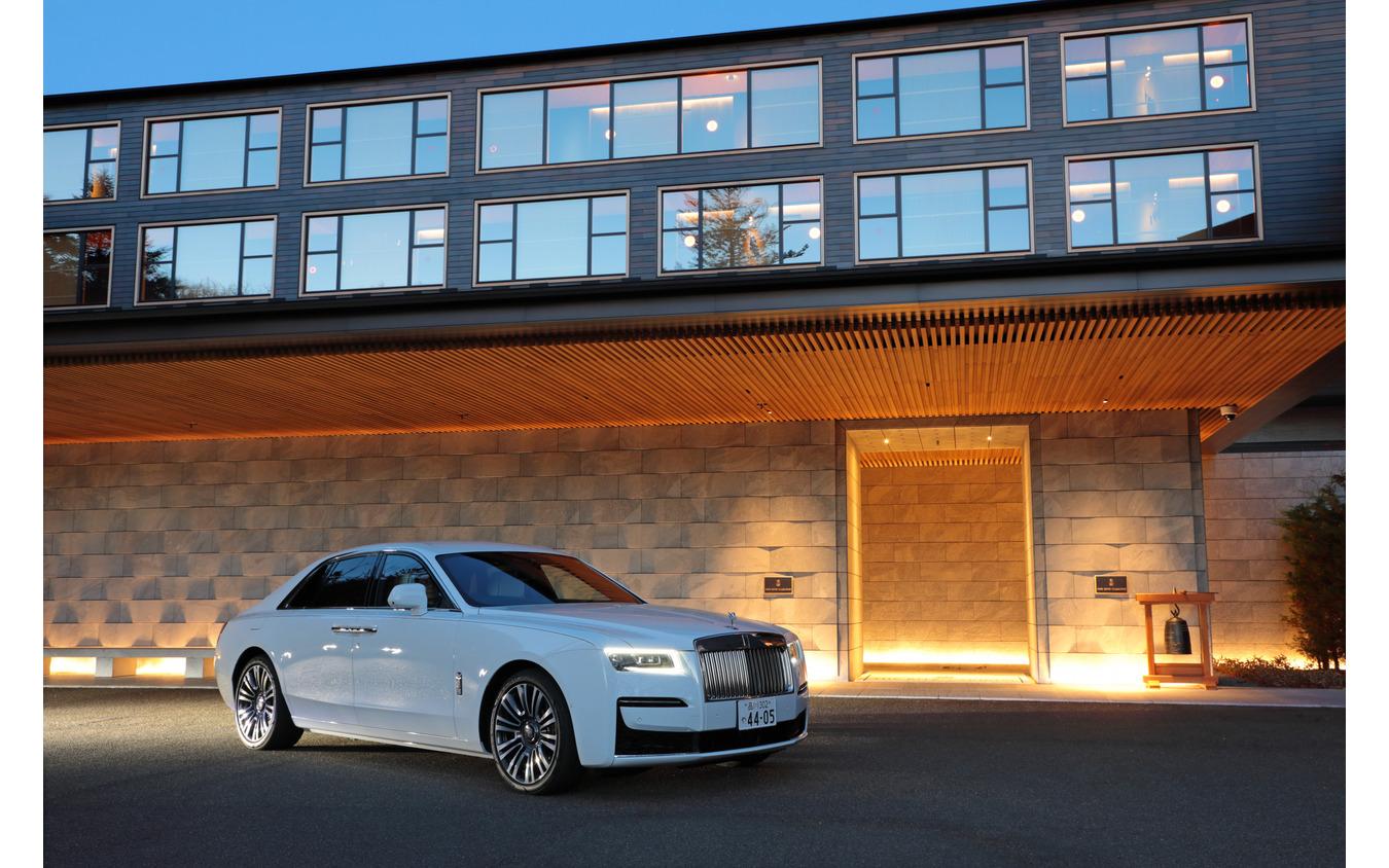 ザ・リッツ・カールトン 日光 - The Ritz-Carltonとロールス・ロイス新型ゴースト