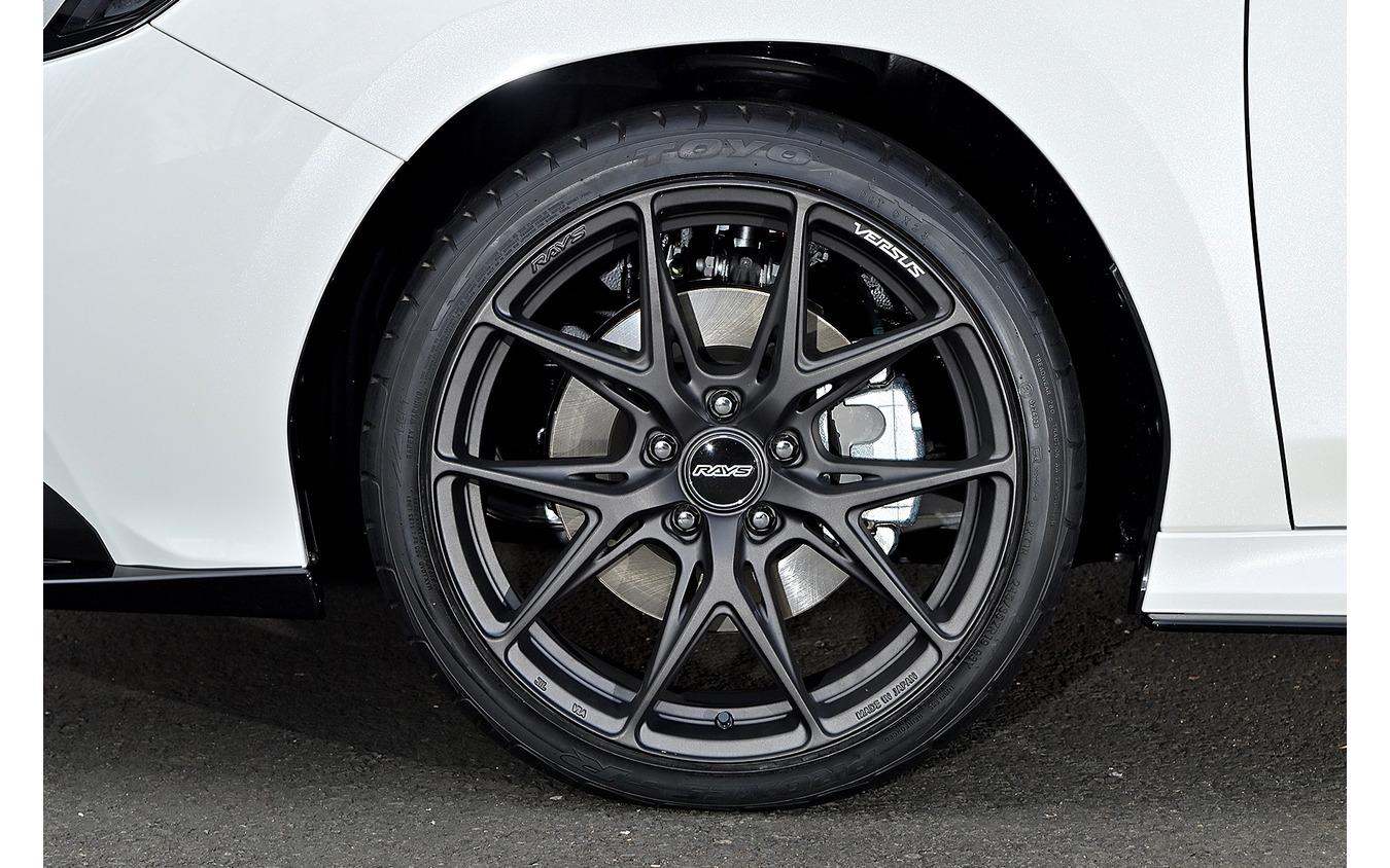 レイズ ベルサス VV21S 推奨サイズ:19×8.5JInset45 5H-114.3/カラー:マットスーパーダークガンメタ/タイヤサイズ:245/35R19 ※チューナーサイズ