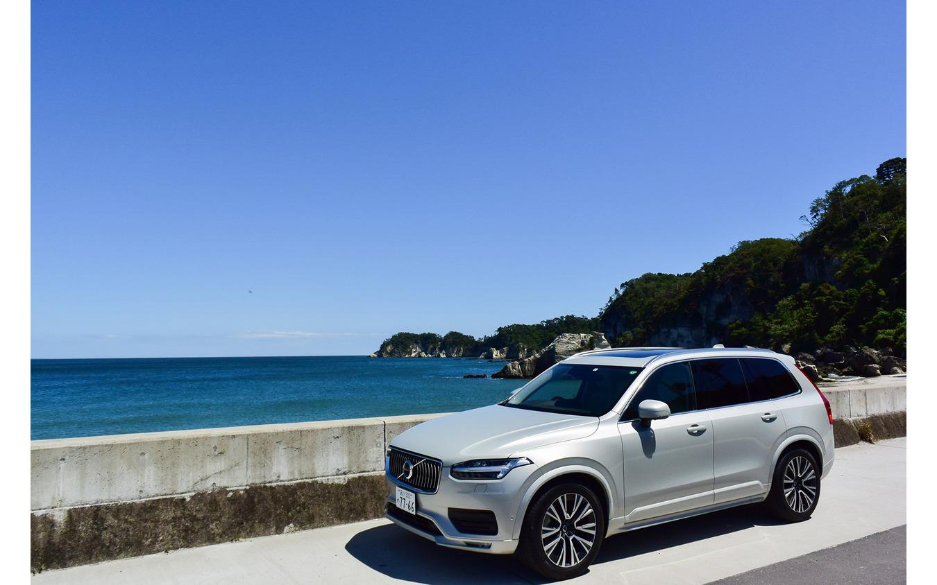 奥松島にて。白砂が生む松島ブルーな海の色が素晴らしかった。