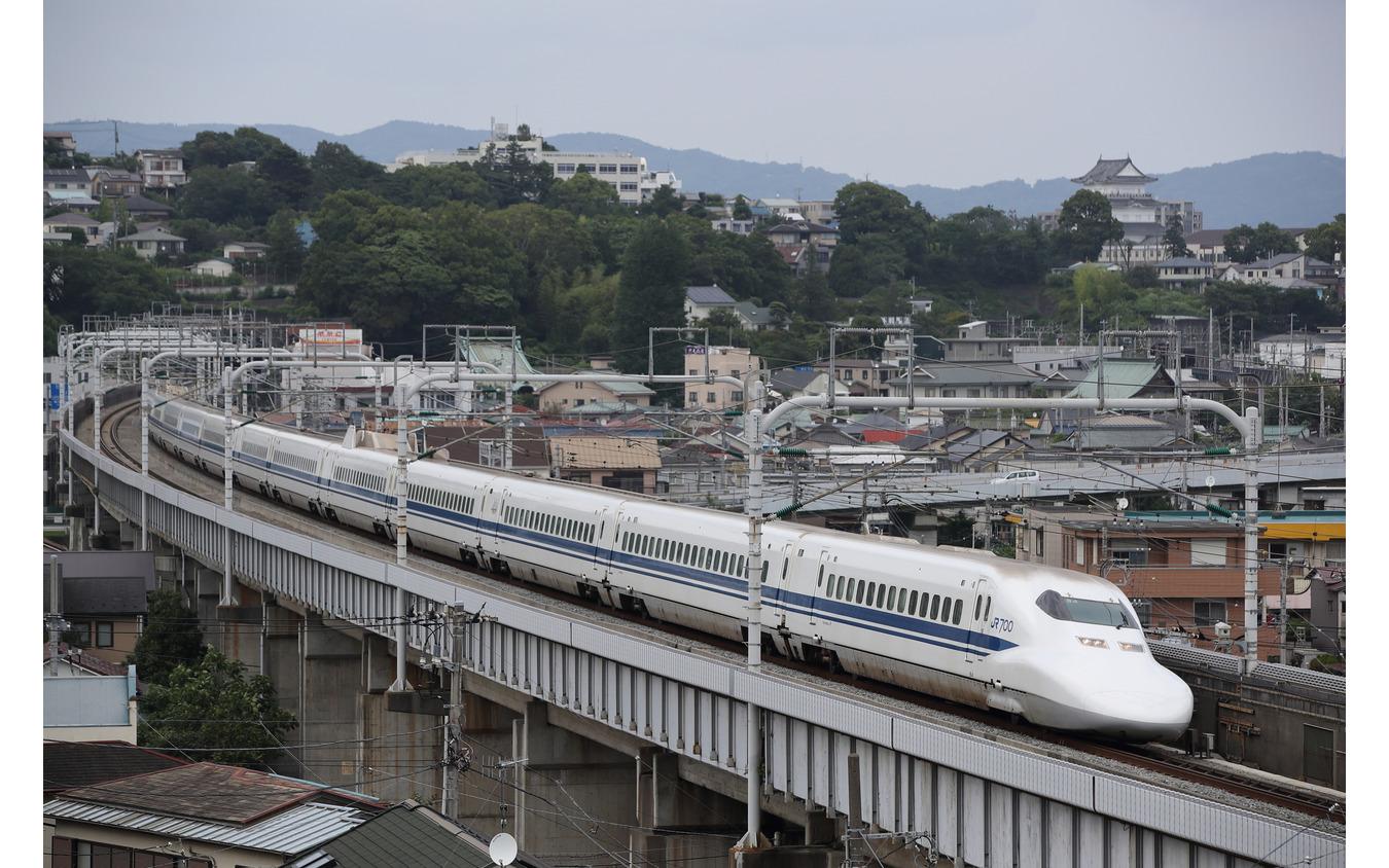 東海道新幹線(小田原駅西方)