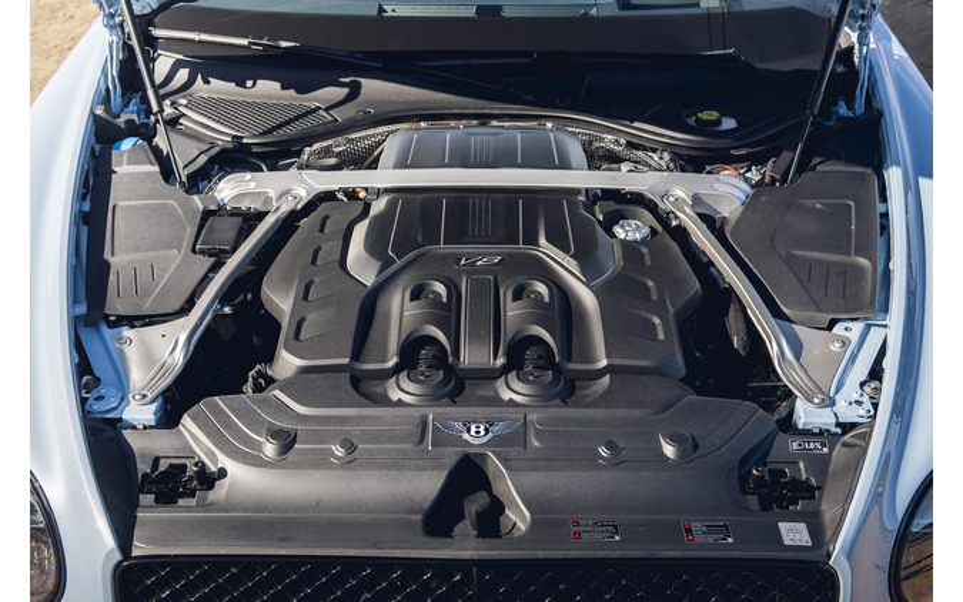 ベントレー コンチネンタルGT V8コンバーチブル(写真は海外仕様)