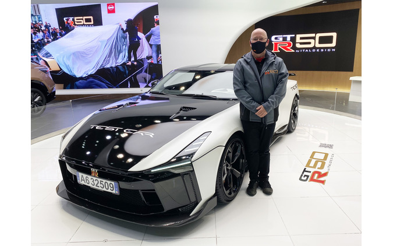 GT-R50 by ItaldesignとSCIのジャスティン・ガードナー氏