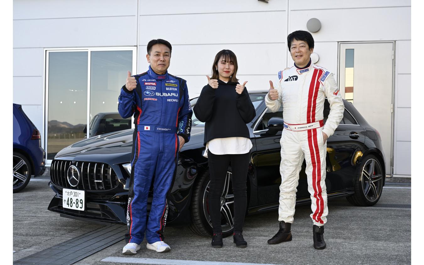 吉田寿博さん、中谷明彦さんと記念撮影