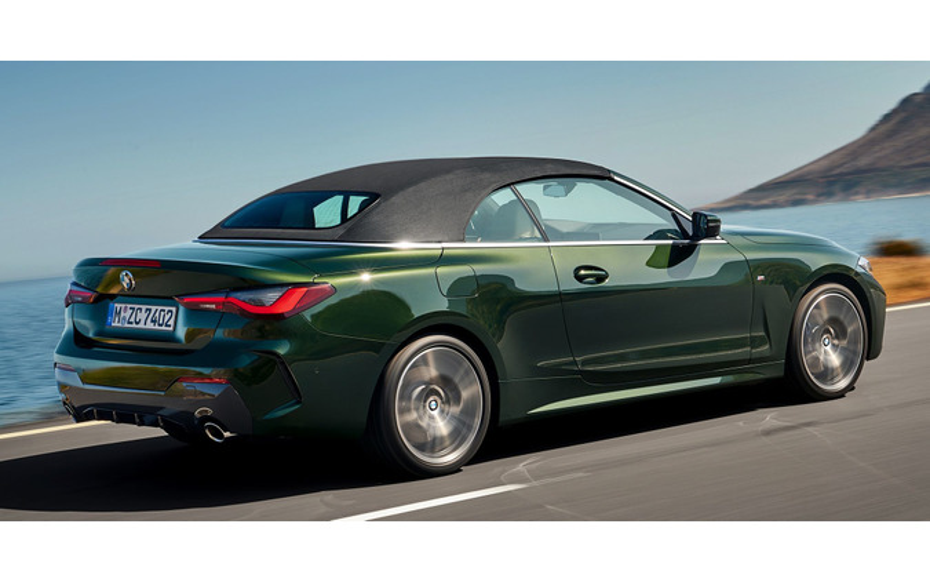 BMW 4シリーズ ・カブリオレ 新型