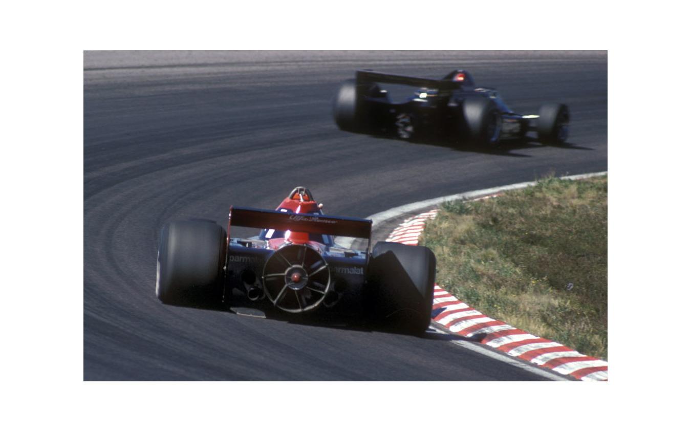 """1978年スウェーデンGP、ブラバムBT45B""""ファンカー""""、ラウダ"""