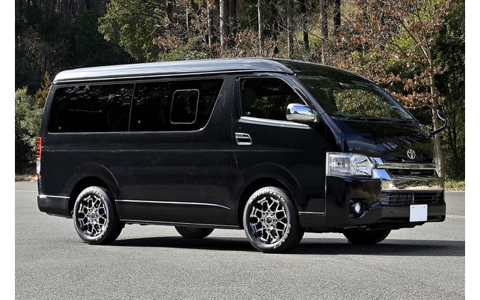 MID【ナイトロパワー M28 BULLET】推奨サイズ:17×6.5J Inset38/カラー:ブラック/ミラーカット/タイヤサイズ:215/60R17