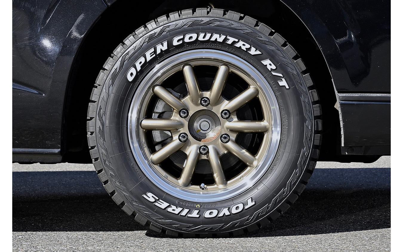 エセックス【ENCB-16】推奨サイズ:16×6.5J Inset38/カラー:ブロンズ/タイヤサイズ:215/65R16 ※注意事項:4WDはハンドル末切り時にインナーに干渉の可能性あり
